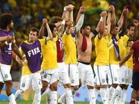 全场回放-巴西2-1哥伦比亚 两中卫进球内马尔伤退