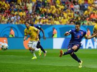 罗本造点范佩西一蹴而就 荷兰1-0开场闪击