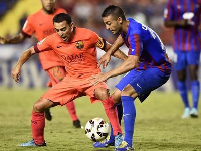 西甲14/15赛季第4轮 莱万特VS巴塞罗那