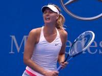 中网-莎拉波娃完胜小将斯维图丽娜 强势晋级16强