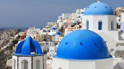 蓝色希腊承载美丽传说 万里送油泼面情意浓浓