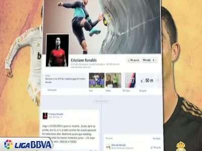 facebook粉丝超5千万 c罗感谢球迷