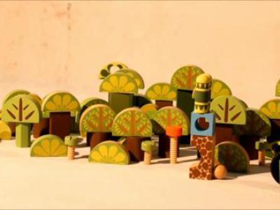 零零后动画作品《采蘑菇的小兔子》