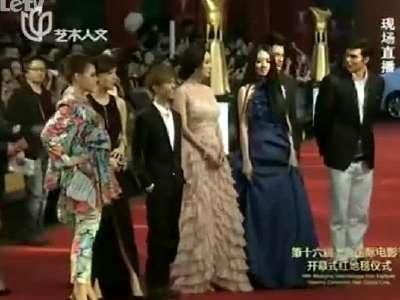 电影《小时代》剧组亮相上影节红毯
