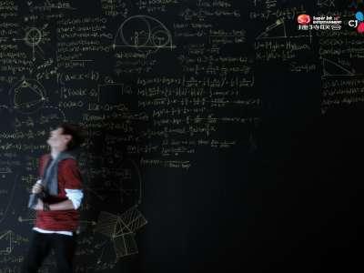 """timez《青春爱最大》回归倒计时 田翌臣篇预告之""""黑色""""数学课"""
