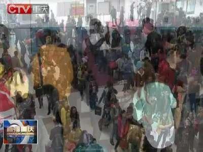 重庆北至上海虹桥的火车票今天开售