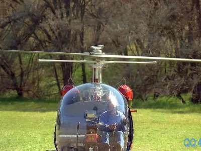 直升飞机起飞 (2)·编码:zsj31