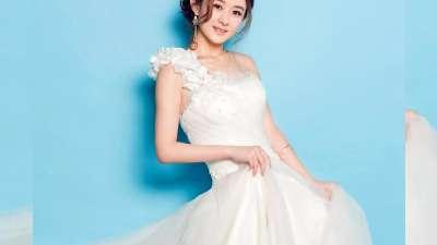 赵丽颖婚纱写真娇乖甜美图片