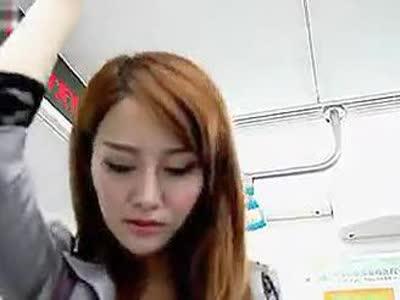 地铁美女的痒 高清