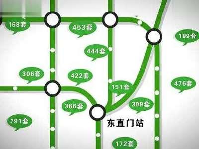 安居客北京地铁隧道广告-地铁篇
