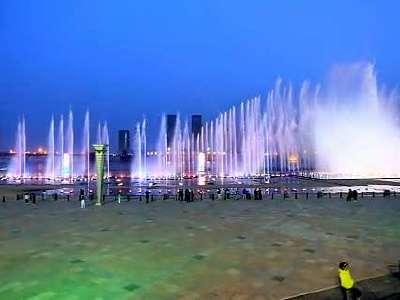 鄂尔多斯音乐喷泉广场
