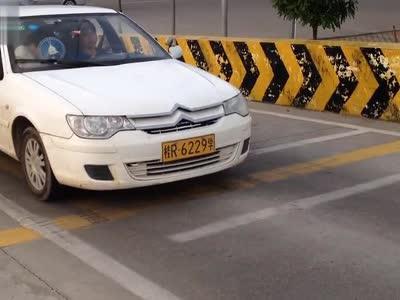 科目二:坡道定点停车与起步