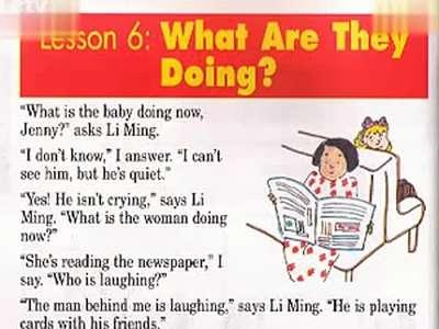 义务教育实验教科书小学五年级下册英语第一单元6