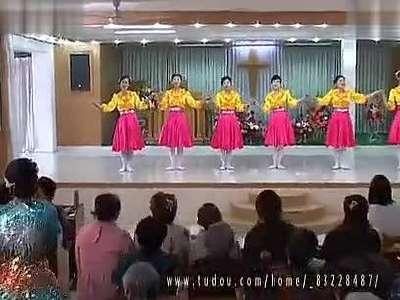基督教歌曲舞蹈 在主里祝福你