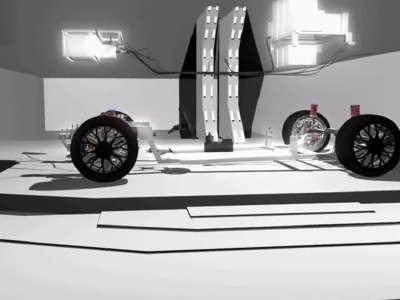 新概念电动汽车(战龙队)