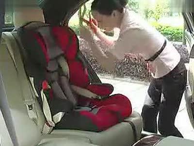 儿童安全座椅安装方法_标清