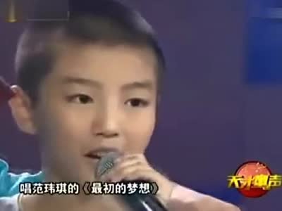 tfboys王俊凯12岁圆寸造型曝光