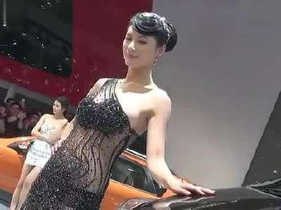 上海车展美女