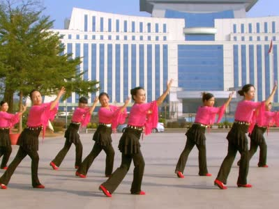 梦园广场舞:青藏女孩