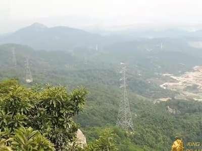 深圳凤凰山森林公园 宝安区福永镇广深高速107国道旁