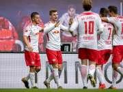 德甲-奥古斯丁维尔纳破门 莱比锡2-1力克法兰克福