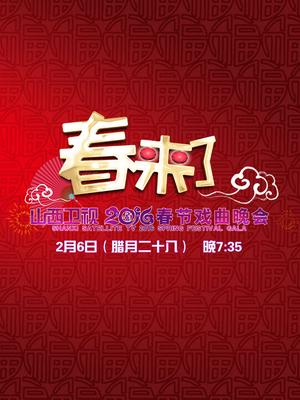 山西卫视2016春节戏曲晚会海报