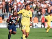 法甲-姆巴佩失良机内马尔伤缺 巴黎0-0蒙彼利埃