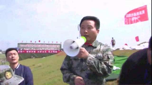 2018年益阳市洞庭湖区防汛抢险演练